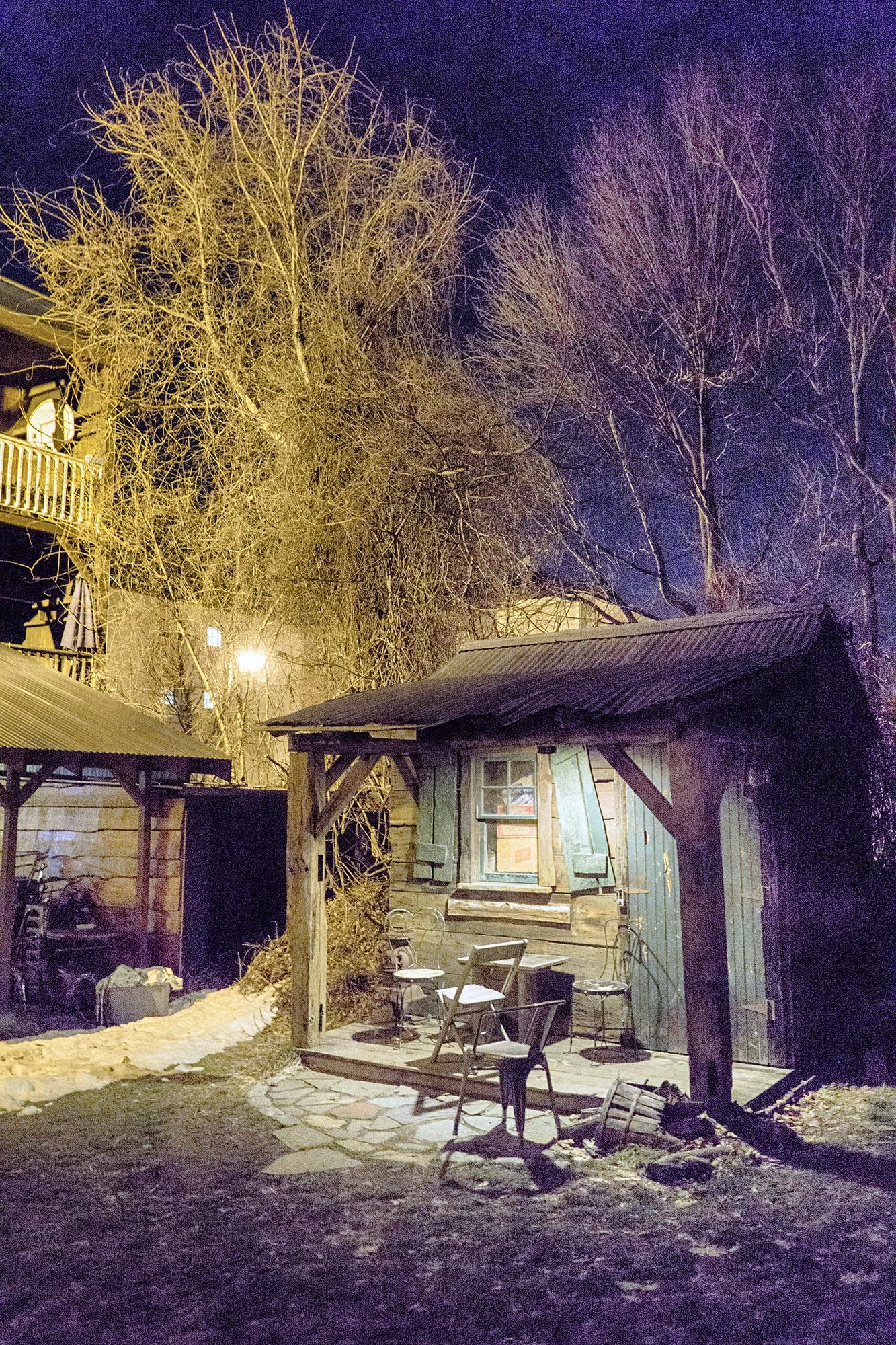 Vincent's shack